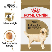Load image into Gallery viewer, Royal Canin Breed Health Nutrition Labrador Retriever Adult Dry Dog Food