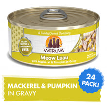 Load image into Gallery viewer, Weruva Meow Luau With Mackerel and Pumpkin Canned Cat Food