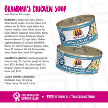 Load image into Gallery viewer, Weruva Grain Free Grandma's Chicken Soup With Chicken & Pumpkin Canned Cat Food