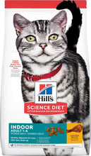 Load image into Gallery viewer, Hill's Science Diet Adult Indoor Chicken Recipe Dry Cat Food