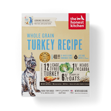 Load image into Gallery viewer, The Honest Kitchen Whole Grain Turkey Recipe Dehydrated Dog Food