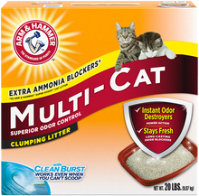 Load image into Gallery viewer, Arm & Hammer Multi-Cat Extra Strength Scented Clumping Litter