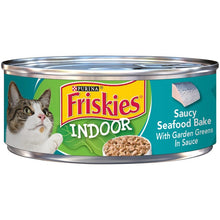 Load image into Gallery viewer, Friskies Selects Indoor Saucy Seafood Bake Canned Cat Food