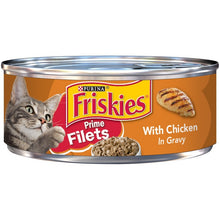 Load image into Gallery viewer, Friskies Prime Filets With Chicken In Gravy Canned Cat Food