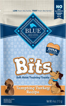 Load image into Gallery viewer, Blue Buffalo Bits Tempting Turkey Natural Soft-Moist Training Treats