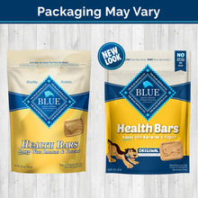 Load image into Gallery viewer, Blue Health Bars Baked With Banana & Yogurt Dog Treats