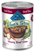 Load image into Gallery viewer, Blue Buffalo Blue's Hearty Beef Stew Canned Dog Food