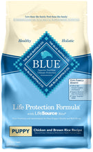 Load image into Gallery viewer, Blue Buffalo Life Protection Natural Chicken & Brown Rice Recipe Puppy Dry Dog Food