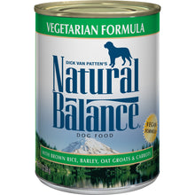 Load image into Gallery viewer, Natural Balance Vegetarian Formula Canned Dog Food