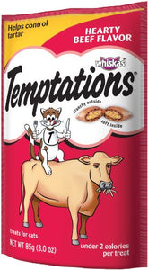 Temptations Hearty Beef Flavor Cat Treats