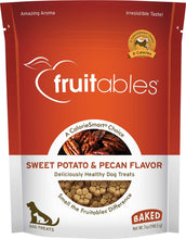Load image into Gallery viewer, Fruitables Crunchy Sweet Potato & Pecan Dog Treats
