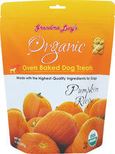 Load image into Gallery viewer, Grandma Lucy's Organic Oven Baked Pumpkin Flavor Dog Treats