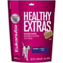 Load image into Gallery viewer, Eukanuba Healthy Extras 1-12 Month Puppy Growth Dog Biscuits