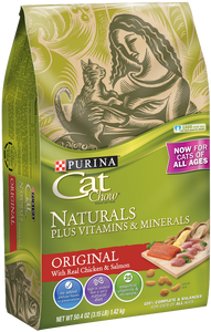 Purina Cat Chow Naturals Original Dry Cat Food