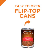 Load image into Gallery viewer, Purina Pro Plan Savor Adult Beef & Rice Entree Canned Dog Food