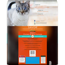Load image into Gallery viewer, Purina Pro Plan Savor Chicken & Rice Formula Dry Cat Food