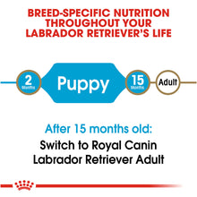 Load image into Gallery viewer, Royal Canin Breed Health Nutrition Labrador Retriever Puppy Dry Dog Food
