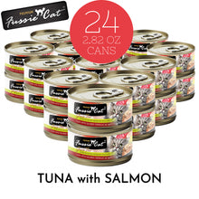 Load image into Gallery viewer, Fussie Cat Premium Tuna with Salmon Formula in Aspic Canned Food