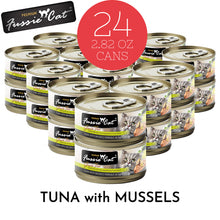 Load image into Gallery viewer, Fussie Cat Premium Tuna with Mussels Formula in Aspic Canned Food