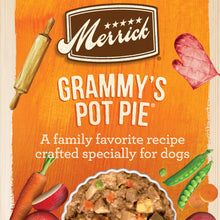Load image into Gallery viewer, Merrick Grain Free Grammy's Pot Pie Canned Dog Food