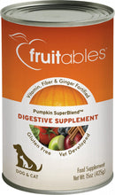 Load image into Gallery viewer, Fruitables Pumpkin SuperBlend Digestive Canned Supplement for Dogs & Cats