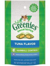 Load image into Gallery viewer, Greenies Smartbites Hairball Control Tuna Cat Treats