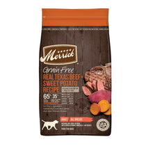 Load image into Gallery viewer, Merrick Grain Free Real Texas Beef & Sweet Potato Dry Dog Food