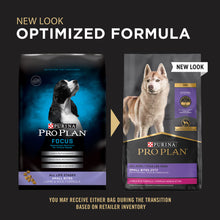 Load image into Gallery viewer, Purina Pro Plan Focus All Life Stages Small Bites Lamb & Rice Dry Dog Food