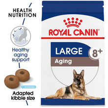 Load image into Gallery viewer, Royal Canin Size Health Nutrition Large Breed Aging 8+ Dry Dog Food