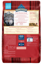 Load image into Gallery viewer, Blue Buffalo Wilderness Rocky Mountain Grain Free Red Meat High Protein Recipe Large Breed Adult Dry Dog Food