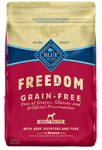 Load image into Gallery viewer, Blue Buffalo Freedom Grain-Free Adult Beef Recipe Dry Dog Food