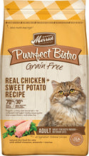 Load image into Gallery viewer, Merrick Purrfect Bistro Grain Free Real Chicken & Sweet Potato Recipe Dry Cat Food
