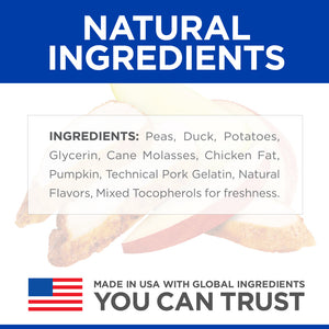 Hill's Science Diet Soft-Baked Naturals with Duck & Pumpkin Dog Treats