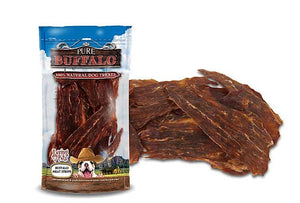 Pure Buffalo Meat Strips Dog Treats