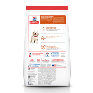 Hill's Science Diet Puppy Large Breed Lamb Meal & Brown Rice Dry Dog Food