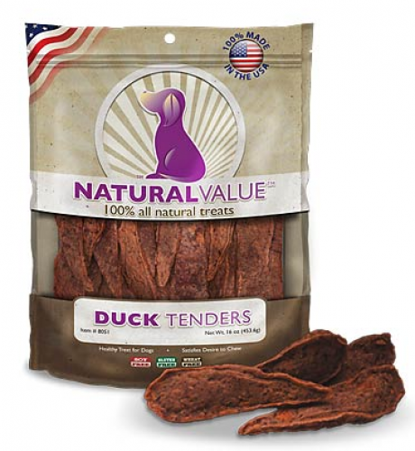 Loving Pets Natural Value Duck Tenders Dog Treats