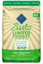 Load image into Gallery viewer, Blue Buffalo Basics Grain Free Adult Lamb & Potato Recipe Dry Dog Food