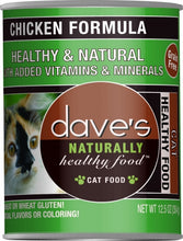 Load image into Gallery viewer, Dave's Naturally Healthy Chicken Formula Canned Cat Food