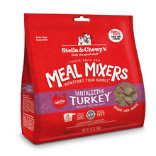 Load image into Gallery viewer, Stella & Chewy's Freeze Dried Raw Tantalizing Turkey Meal Mixers Grain Free Dog Food Topper
