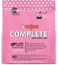Load image into Gallery viewer, Sojos Lamb Complete Dog Food Mix