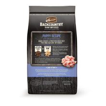 Load image into Gallery viewer, Merrick Backcountry Raw Infused Grain Free Puppy Recipe Dry Dog Food