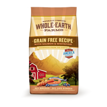 Load image into Gallery viewer, Whole Earth Farms Grain Free Recipe Salmon and Whitefish Dry Dog Food