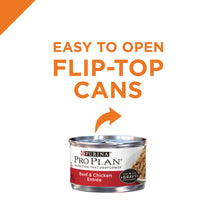 Load image into Gallery viewer, Purina Pro Plan Savor Adult Beef & Chicken in Gravy Entree Canned Cat Food