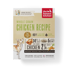 Load image into Gallery viewer, The Honest Kitchen Whole Grain Chicken Recipe Dehydrated Dog Food