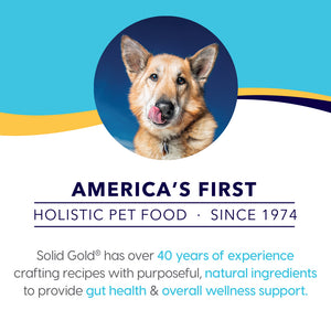 Solid Gold Fit & Fabulous Adult Low Fat & Low Calorie with Fresh Caught Alaskan Pollock Dry Dog Food