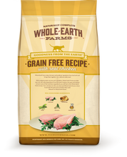 Load image into Gallery viewer, Whole Earth Farms Grain Free Real Chicken Recipe Dry Cat Food