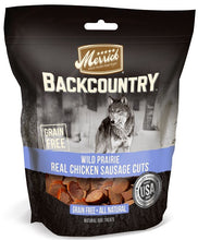 Load image into Gallery viewer, Merrick Backcountry Wild Prairie Grain Free Chicken Sausage Cuts Dog Treats