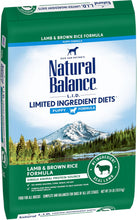 Load image into Gallery viewer, Natural Balance L.I.D. Limited Ingredient Diets Lamb & Brown Rice Puppy Formula Dry Dog Food