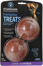 Load image into Gallery viewer, Starmark Everlasting Treats Liver Flavor Dog Dental Treats