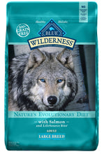 Load image into Gallery viewer, Blue Buffalo Wilderness High Protein Salmon Recipe Large Breed Dry Dog Food